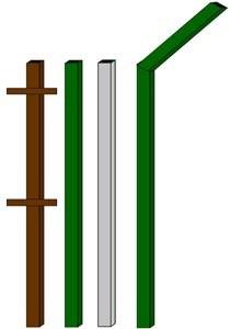 изготовление металлические столбы в Хабаровске
