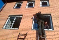 Монтаж решеток в Хабаровске