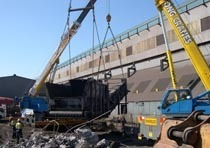Демонтаж конструкций из металла в Хабаровске