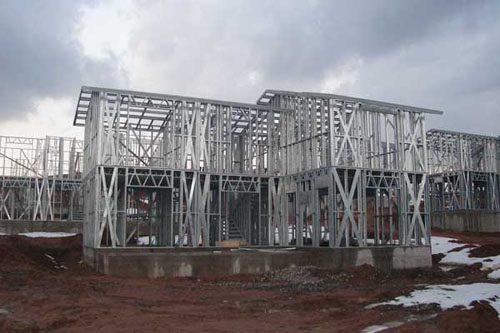 Здания на основе облегчённого металлического каркаса в Хабаровске